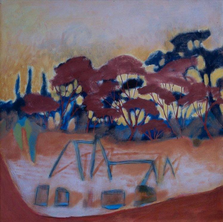 oil on board 50cm x 50cm