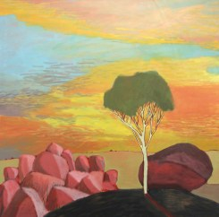 Sunset Tree 2017 Oil on Canvas 90 x 90 cm $2,100 (SOLD)
