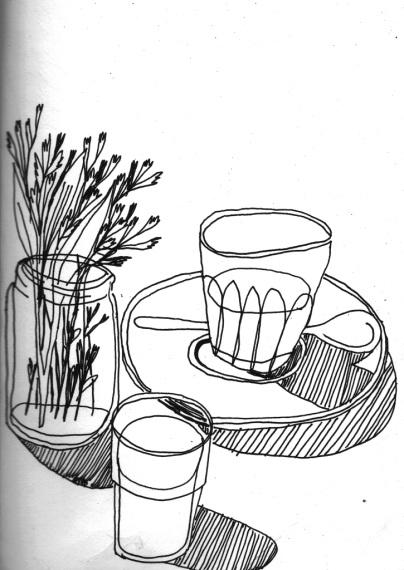 Coffee sketch